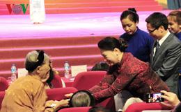 Chủ tịch Quốc hội dự Lễ kỷ niệm ngày Quốc tế Người cao tuổi
