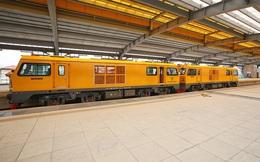 Cận cảnh buồng lái tàu thông đường ray Cát Linh - Hà Đông
