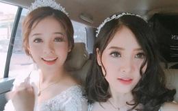 Đôi bạn thân sinh năm 1999 bị nhầm là cô dâu và phù dâu xinh nhất Facebook hôm nay