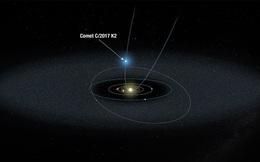 Kính Hubble chụp ảnh sao chổi đang hoạt động ở khoảng cách 2,4 tỷ km