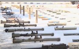 Video: Syria công bố vũ khí tịch thu từ phiến quân