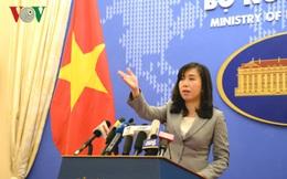 Việt Nam lên tiếng việc tàu Mỹ di chuyển gần quần đảo Hoàng Sa