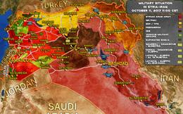 Quân Nga-Syria truy sát IS, Mỹ mở đường cho khủng bố về Deir Ezzor