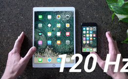 So sánh sự khác biệt giữa màn hình tiêu chuẩn của Galaxy S8 với màn hình có tần số quét 120Hz