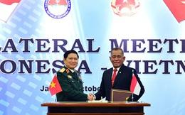 Việt Nam và In-đô-nê-xi-a ký Tuyên bố Tầm nhìn chung về hợp tác quốc phòng 2017