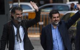 Tây Ban Nha bắt giữ hai lãnh đạo Catalan