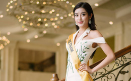 Tiếp tục dẫn đầu bình chọn, Huyền My giành được vị trí đẹp trong đêm chung kết Miss Grand International 2017