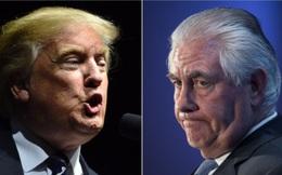 """Tổng thống Mỹ Trump và Ngoại trưởng Tillerson """"lệch pha"""" về Iran"""