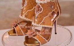Có gì đặc biệt ở đôi giày vàng, đính kim cương giá tương đương với 170 căn chung cư?