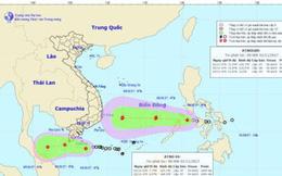 Bão nối đuôi áp thấp nhiệt đới đổ bộ vào biển Đông