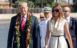 Ông Trump lần đầu tận mắt thấy Trân Châu Cảng