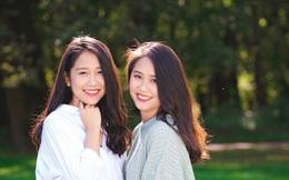 Lại thêm một cặp chị em song sinh 9x siêu dễ thương đến từ Nghệ An