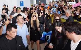 """T-ara gây """"náo loạn"""" khi trở lại Việt Nam sau concert"""
