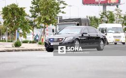 Xe ô tô của đoàn Hàn Quốc tham dự APEC xuất hiện trên đường phố Đà Nẵng