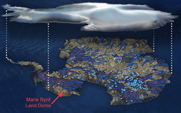 Mảng đá nóng bí ẩn đang làm tan chảy Nam Cực