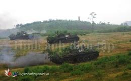 Lữ đoàn Tăng – Thiết giáp 206 diễn tập chỉ huy – cơ quan một bên hai cấp