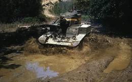 Loạt ảnh màu ấn tượng về xe tăng cổ của Mỹ huấn luyện trên thao trường