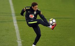 Neymar trút bỏ nỗi buồn hướng tới trận giao hữu Anh - Brazil