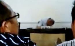 Thẩm phán say xỉn, ngủ gục trong phiên tòa