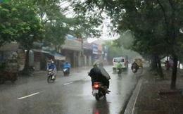 Thời tiết hôm nay: Mưa trên khắp cả nước, trời dịu mát