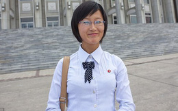 Cuộc đối thoại thú vị với một cô gái trẻ Triều Tiên xinh xắn