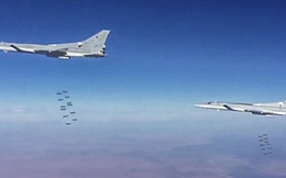 Nga công bố video Tu-22M3 dội bom IS ở Syria