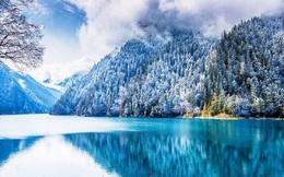 """Quên Cửu Trại Câu lá vàng đi, """"thiên đường hạ giới"""" mùa đông đẹp không khác gì chốn bồng lai tiên cảnh"""