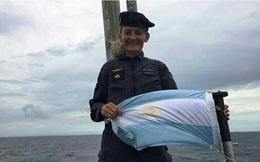 Chân dung nữ sĩ quan tàu ngầm duy nhất của Argentina trên con tàu bị nạn