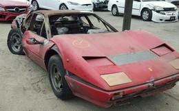 Siêu xe Ferrari cháy rụi vẫn có giá gần 40.000 USD