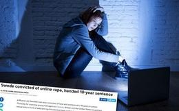 """Người đàn ông Thụy Điển bị kết án 10 năm vì có hành vi """"hiếp dâm online"""""""