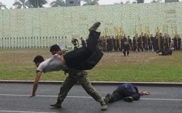 Những tuyệt kỹ võ thuật của đặc công Việt Nam