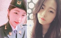 Mỹ nữ 'mong manh như sương khói' này lại là Gương mặt đại điện của quân đội Hàn Quốc 2017