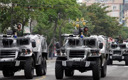 Dàn phương tiện đặc chủng bảo vệ Tuần lễ Cấp cao APEC 2017