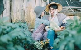 Chỉ cần yêu nhau thật nhiều thì ảnh cưới chụp ở... vườn rau cũng khiến người ta xuýt xoa