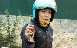 Tâm sự của cô giáo Điện Biên lấm lem bùn đất khi đến trường