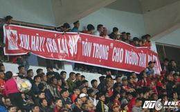 CĐV Hải Phòng chửi trọng tài, lăng mạ Hà Nội FC: Không thể cho những kẻ tục tĩu, vô văn hóa vào sân