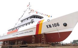 Nhà máy X46, Cục Kỹ thuật Hải quân hạ thủy tàu Kiểm ngư KN 3600 số 01
