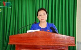 Chủ tịch Quốc hội tiếp xúc cử tri phường Phú Thứ (Cần Thơ)