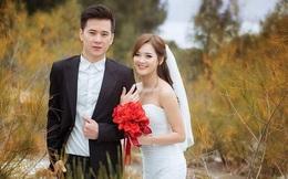 'Hot girl dân tộc' hạnh phúc bên chồng trong bộ ảnh cưới