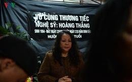 Thu Hà, Trần Lực bàng hoàng trước sự ra đi của diễn viên Hoàng Thắng