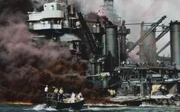 Hé lộ hình ảnh mới nhất hải chiến Trân Châu Cảng