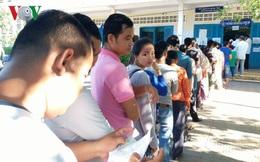 Campuchia bắt đầu bỏ phiếu bầu cử Hội đồng xã, phường nhiệm kỳ 4