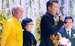 Đàm Vĩnh Hưng lần đầu xuất hiện bên mẹ trong lễ cưới em gái