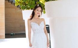 """Sau scandal """"tình một đêm"""" với trai trẻ, Trần Kiều Ân trở thành cô dâu lộng lẫy nhất tháng 9"""