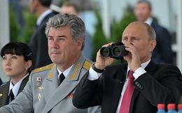 Tổng thống Nga thuyên chuyển chức vụ một loạt quan chức quân đội và an ninh