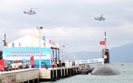 Lễ thượng cờ tàu ngầm Đà Nẵng và Bà Rịa - Vũng Tàu