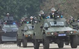 Cận cảnh dàn xe tác chiến khủng của Cảnh sát Đặc nhiệm