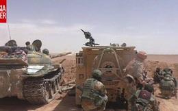 Đặc nhiệm Nga và Syria lừa vào tròng và tiêu diệt nhóm thiết giáp của IS