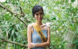 """Hoa hậu Hồng Kông gây choáng với nhan sắc """"phiên bản lỗi"""" của Lan Khuê tại Miss Grand International"""