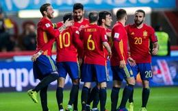 Silva, Costa tỏa sáng giúp Tây Ban Nha đè bẹp Israel